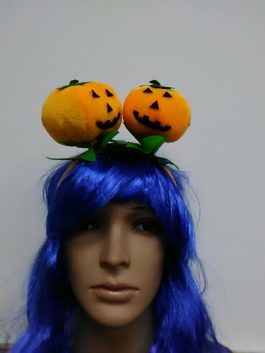 Обруч на хелоуин тыква