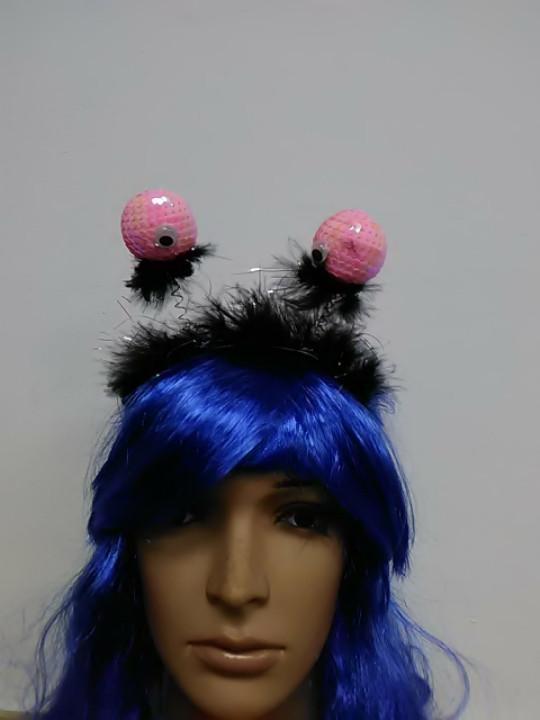 Обруч карнавальный в форме глаза на пружине