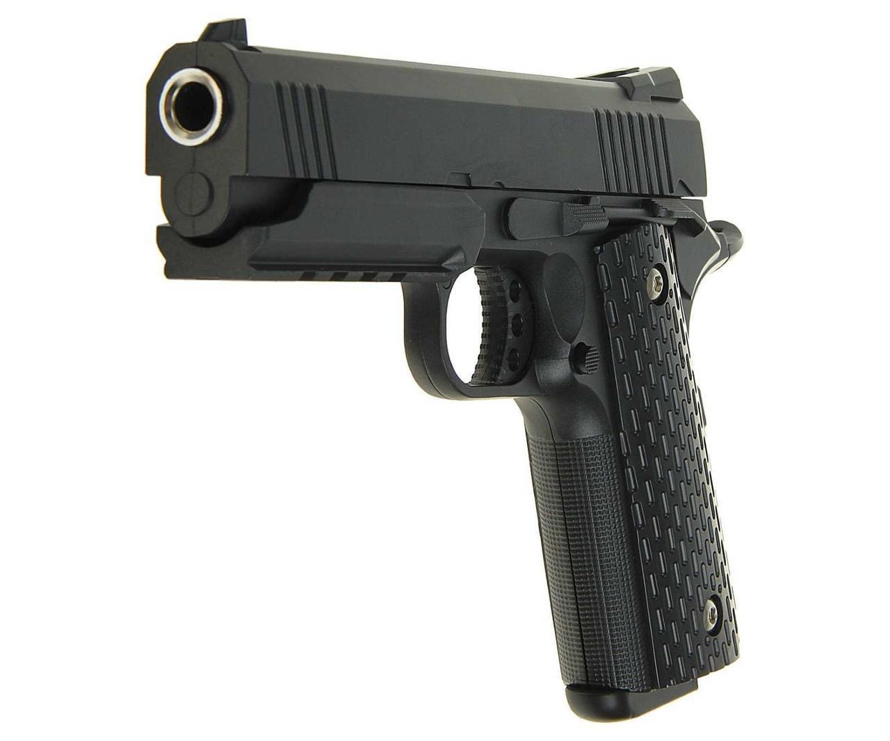 Пистолет страйкбольный G.25  с пульками в коробке 20*14*3,5см