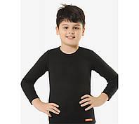 Детский комплект термобелье в черном цвете