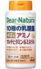 Витамины и минералы. Япония