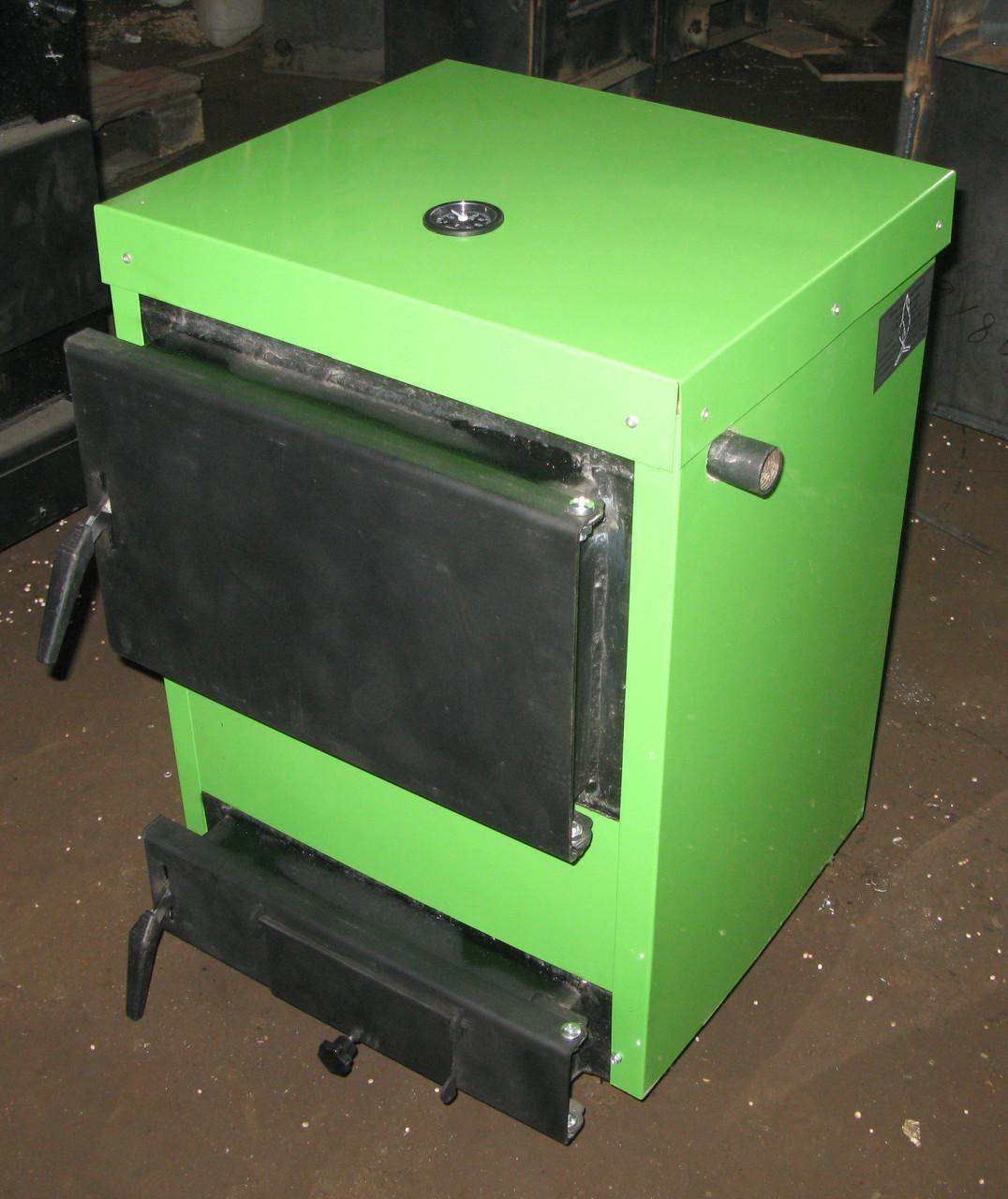 Котел твердотопливный  Gratis-Flame ЭКО БК-12 (эконом)