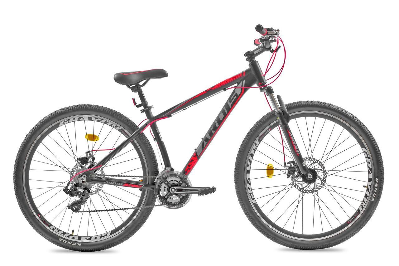 """Велосипед ARDIS BRAVE 29"""" 21"""" колесо ( Черный/Красный )"""