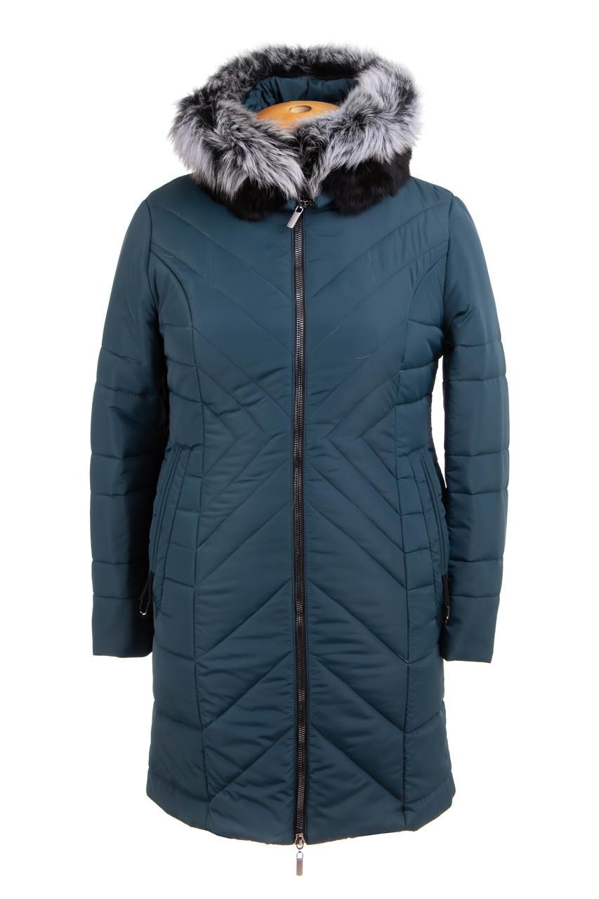 Женские куртки зима  больших размеров 52-62 волна