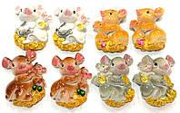 Магнит Мышь с мышонком  7 см