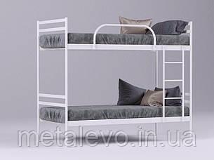 Двухъярусная металлическая кровать КОМФОРТ ДУО, фото 2