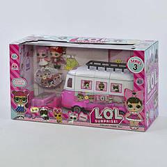 Набор с куклами LOL ТМ 855 В Бело-розовый (2-ТМ855В-73867)