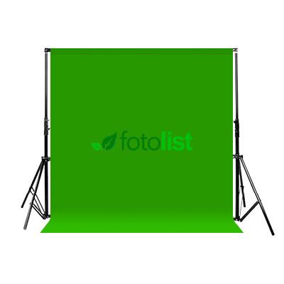 Комплект: Фон тканевой зеленый 2,6х3,0 м (Хромакей) + Ворота Arsenal ARS-260 (2.6м)