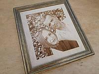 Гравірування фотопортрету на дереві