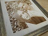 Гравірування фотопортрету на дереві, фото 3
