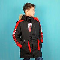 Зимняя куртка для мальчика Красная тм Child Hood тм размер 12