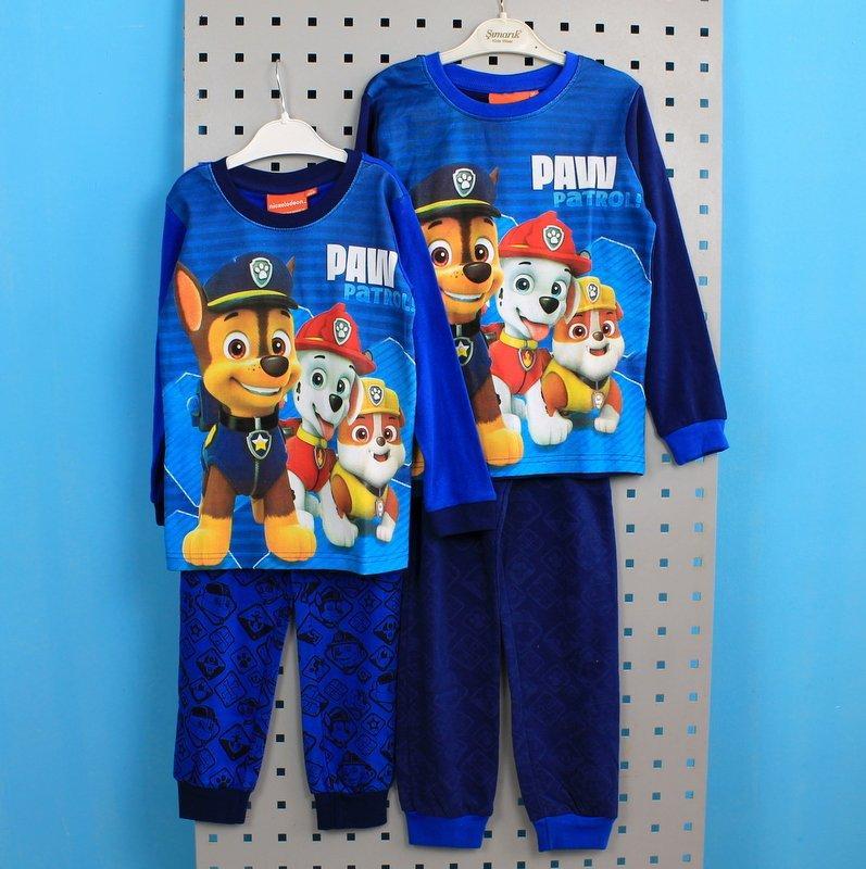 Детская пижама Щенячий патруль для мальчика тм Nickelodeon размер 4