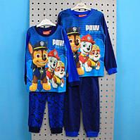 Детская пижама Щенячий патруль для мальчика тм Nickelodeon размер 3,4,6