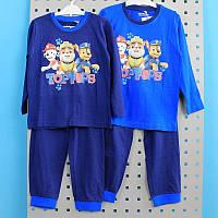 Детская пижама Щенячий патруль для мальчика кулир тм Nickelodeon размер 2-3,3-4,4-5