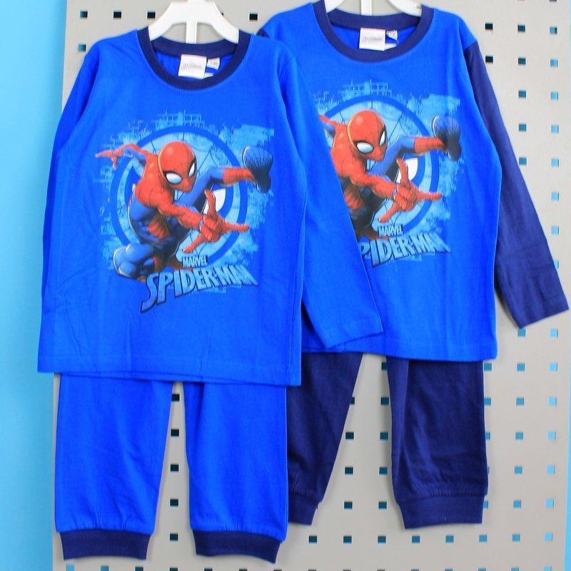 Детская пижама Человек Паук для мальчика кулир тм MARVEL размер 2-3,3-4