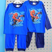 Детская пижама Человек Паук для мальчика кулир тм MARVEL размер 2-3,3-4 лет