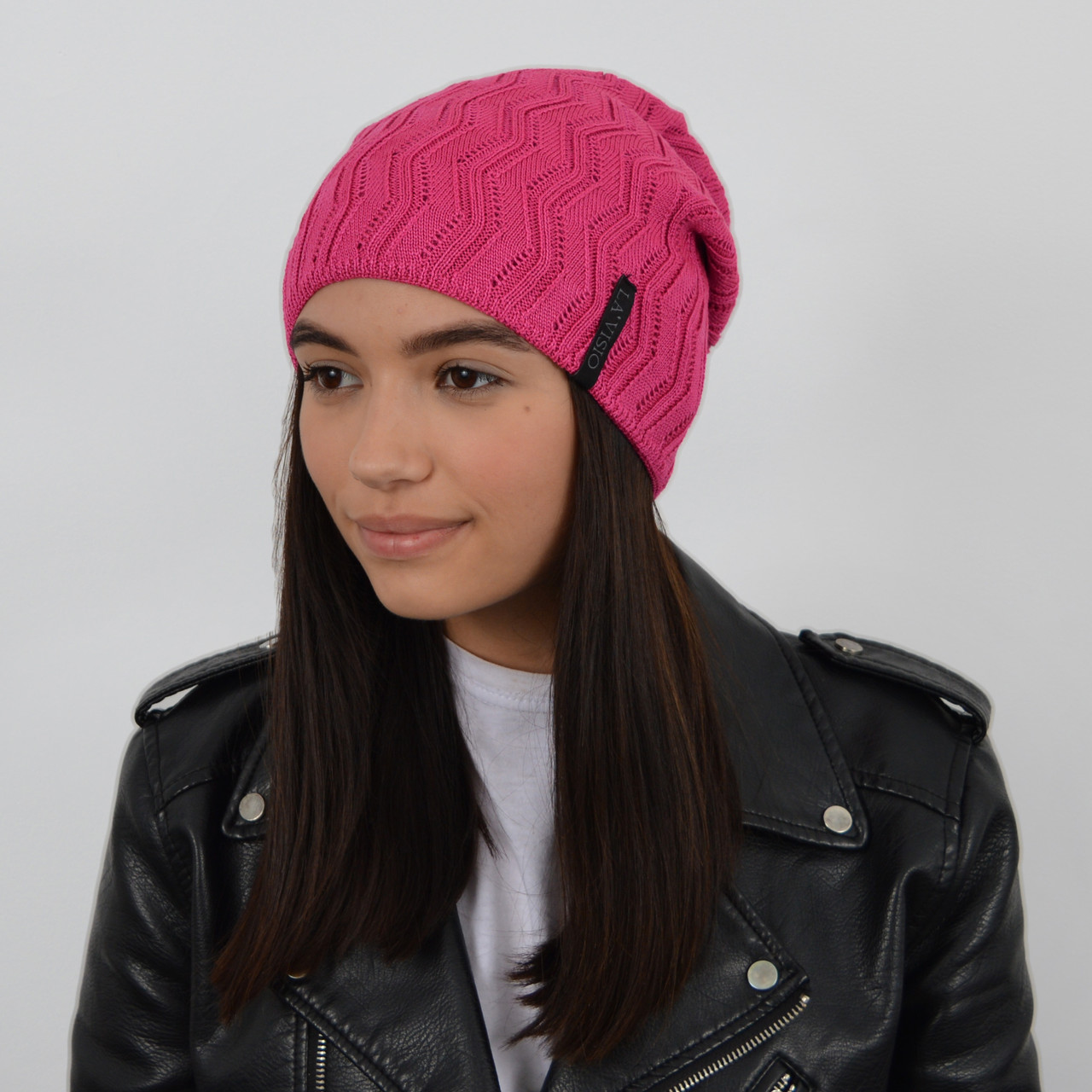 Женская шапка LaVisio (ЛаВисио) 254-204 розовый