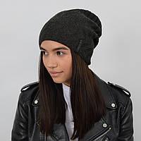Двухстороняя шапка LaVisio (ЛаВисио) 344-213 темно серый, фото 1
