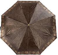 Женский зонт автомат Trust коричневый