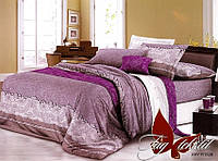 Комплект постельного белья евро XHY1538 ТМ TAG Evro, постельное белье Евро