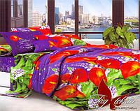 Комплект постельного белья евро XHY545 ТМ TAG Evro, постельное белье Евро