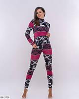 Женский костюм гольф и лосины турецкая вязка штаны на манжете размеры:42-44, 44-46