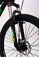Горный велосипед на амортизации HAMMER ACTIVE 26-S211 Сборка 85% Япония Shimano Двухподвес от 160 см Зеленый, фото 10