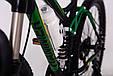 Горный велосипед на амортизации HAMMER ACTIVE 26-S211 Сборка 85% Япония Shimano Двухподвес от 160 см Зеленый, фото 3