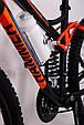 Горный велосипед на амортизации HAMMER ACTIVE 26-S211 Сборка 85% Япония Shimano Двухподвес от 160 см Оранжвевый, фото 3
