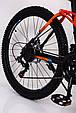 Горный велосипед на амортизации HAMMER ACTIVE 26-S211 Сборка 85% Япония Shimano Двухподвес от 160 см Оранжвевый, фото 5