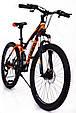 Горный велосипед на амортизации HAMMER ACTIVE 26-S211 Сборка 85% Япония Shimano Двухподвес от 160 см Оранжвевый, фото 2