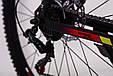 Горный велосипед на амортизации HAMMER ACTIVE 26-S211 Сборка 85% Япония Shimano Двухподвес от 160 см Красный, фото 9