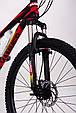 Горный велосипед на амортизации HAMMER ACTIVE 26-S211 Сборка 85% Япония Shimano Двухподвес от 160 см Красный, фото 10