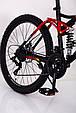 Горный велосипед на амортизации HAMMER ACTIVE 26-S211 Сборка 85% Япония Shimano Двухподвес от 160 см Красный, фото 6