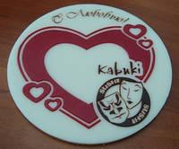 Шоколадные сувениры с логотипом компании ко Дню Святого Валентина
