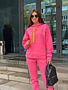 Женский теплый спортивный костюм из трехнитки с худи 63spt788, фото 6