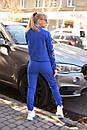 Женский спортивный трикотажный костюм с молнией на кофте 2spt787, фото 2