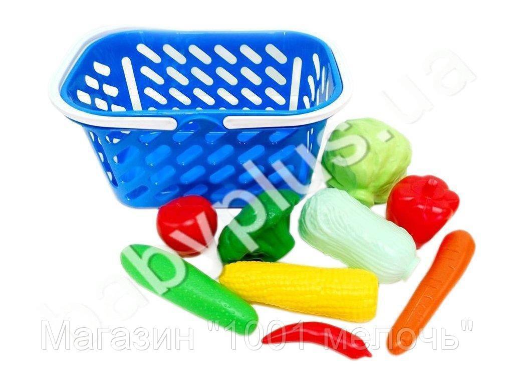 SALE! Корзинка для покупок с овощами. Kinderway KW-04-454(ЦВЕТА:МИКС!  ВНИМАНИЕ:КОРЗИНЫ В ПРОДАЖЕ БЕЗ ОВОЩЕЙ!!)