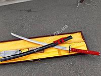 Самурайский меч катана + кейс  и набор по уходу