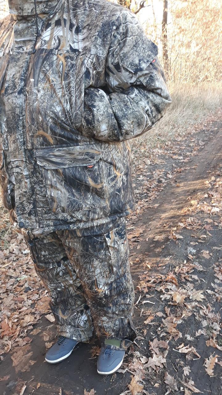 """Зимний костюм   для рыбалки алова усиленная  """"камыш 4 """" - 30  градусов .Высокое качество"""