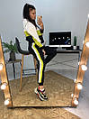Женский спортивный костюм с худи и контрастными вставками 58spt786, фото 3