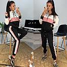 Женский спортивный костюм с худи и контрастными вставками 58spt786, фото 4