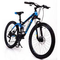 Горный велосипед на амортизации HAMMER ACTIVE 26-A211 Алюминиевая рама Сборка 85% Япония Shimano Двухподвес