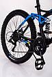 Горный велосипед на амортизации HAMMER ACTIVE 26-A211.Алюминиевая рама.Сборка 85%., фото 6