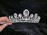 Романтична діадема на зручному довгому обручі (4,5 см), фото 5