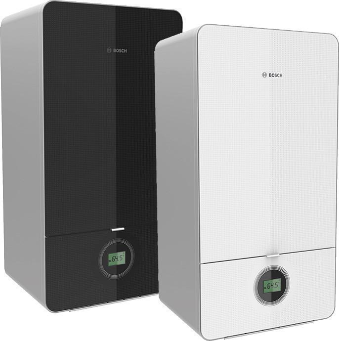 Газовый конденсационный котел BOSCH Condens 7000i W (330 кв.м), 34,7 кВт,черный