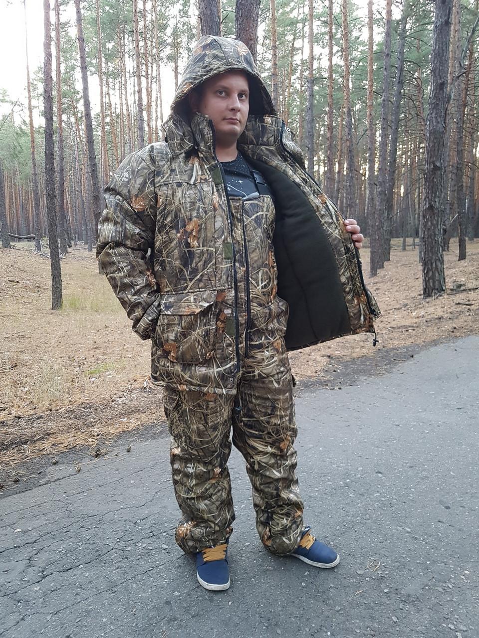Зимний  костюм для рыбалки и охоты   Камыш из ткани Дюспобондинг  усиленный   Супер качество !!!!