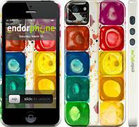 """Чехол на iPhone 5s Палитра красок """"2837c-21"""""""