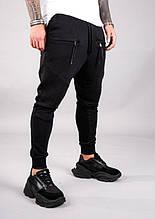 Мужские модные спортивные штаны (черные) - Турция