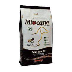 Сухой корм для взрослых собак мелких пород Morando Miocane Adult Mini 0.2 с курицей 10 кг